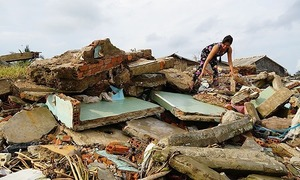 Double whammy: Coastal erosion, land sinkage plague Mekong Delta