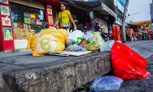 Consumption tax proposed as Vietnam struggles to fight plastic bag use