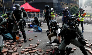 Vietnam brings 40 students home as violence worsens in Hong Kong