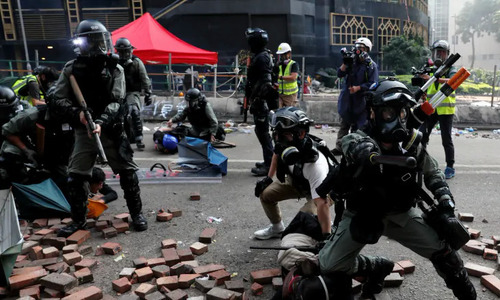 Vietnam brings 40 students home as violence worsens in Hong Kong