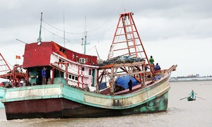 Vietnamese fishermen suffocate to death in fish cabin