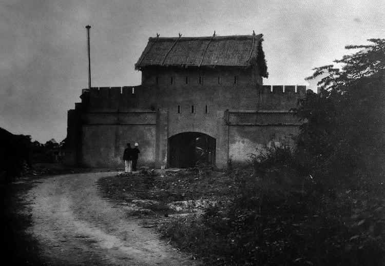 An additional blockhouse erected inside of the citadel at the end of the 19th century.