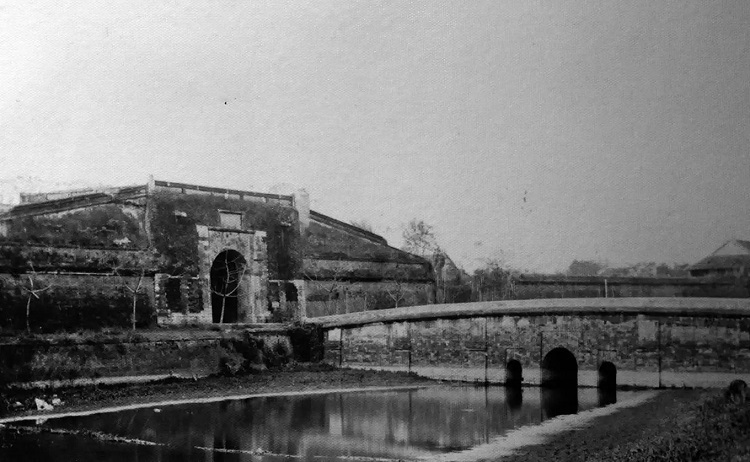 The Citadel's East Gate as seen from the outside in 1889 - 1891.