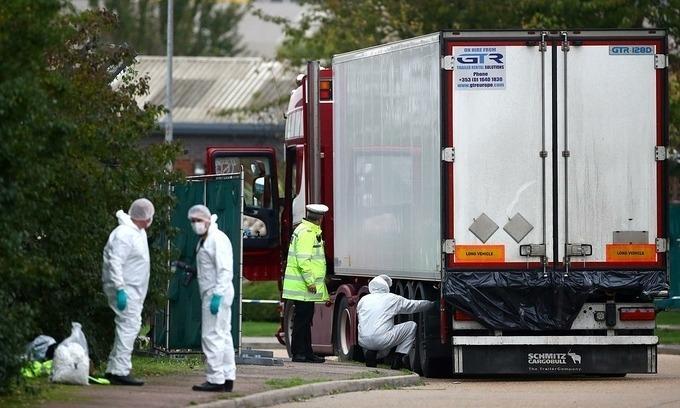 UK arrests another suspect in death of 39 Vietnamese citizens