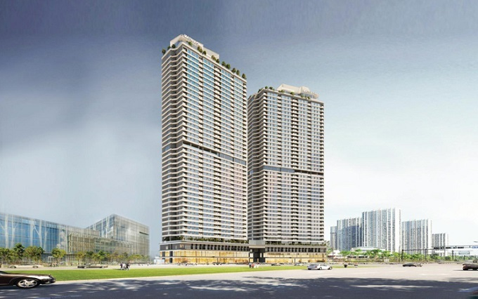 The Matrix One, known as Golden Palace A, is invested by Mai Linh Investment JSC and developed by MIKGroup.