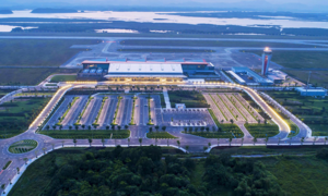 Van Don in northern Vietnam chosen world's best new airport