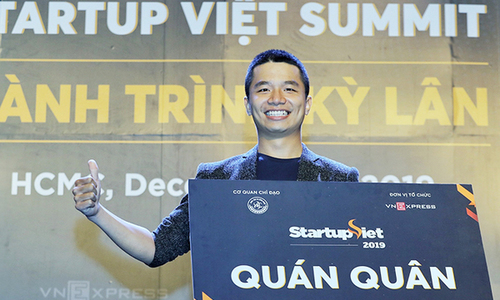 Viec.Co scoops Vietnam Startup 2019 title