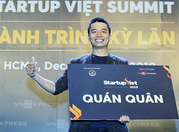 Phan Xuan Canh, founder of startup Viec.Co.