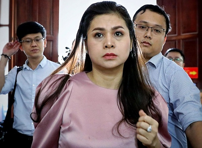 Le Hoang Diep Thao seen at the Ho Chi Minh City High Peoples Court on December 2, 2019. Photo by VnExpress/Huu Khoa.