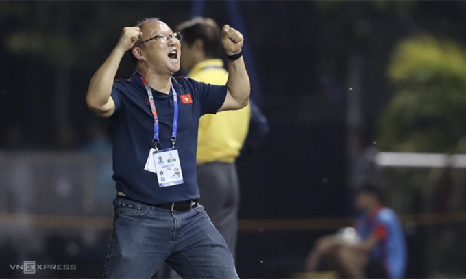 Vietnam showed 'indomitable spirit' in toughest game, says Park