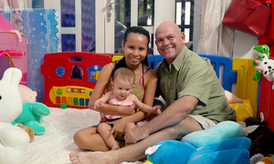 An American teacher in Saigon