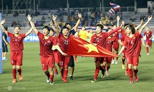 SEA Games: Vietnam enjoy productive day with 20 gold medals