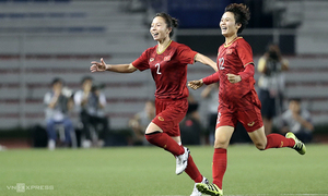 Vietnam women win football gold at SEA Games