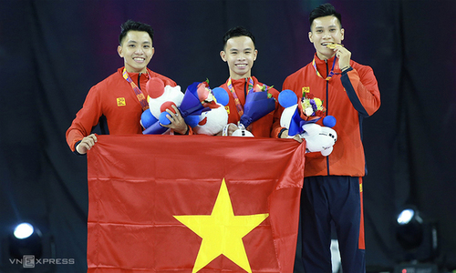SEA Games: Vietnam surpass gold target with 9th day haul