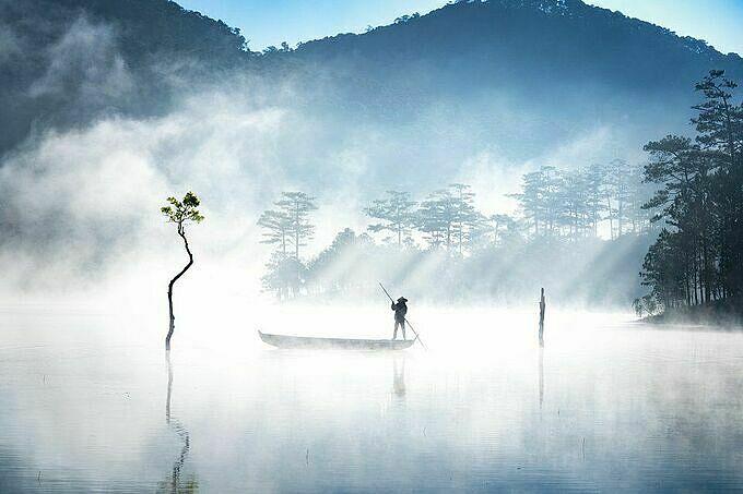Tuyen Lam Lake.Photo by AGORA/Luong Nguyen Anh Trung.