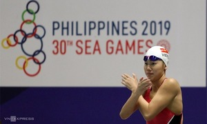 Vietnam's 'Little Mermaid' named best woman athlete at SEA Games