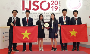 Vietnam bags three gold medals in junior international science contest
