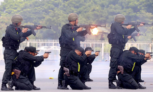 HCMC drill sketches possible terrorism scenarios