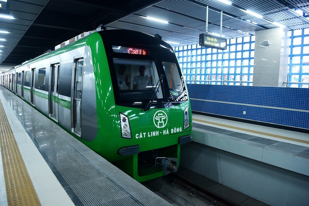 Construction work done, Hanoi metro gets ready to run - VnExpress International