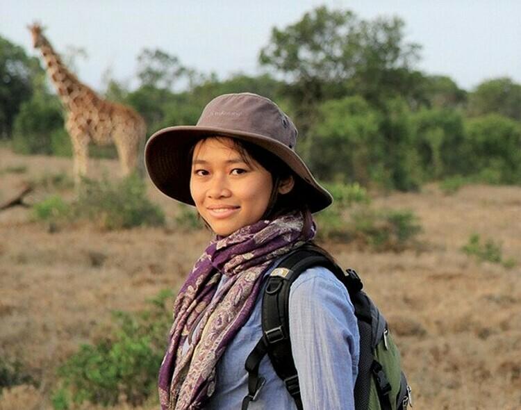 Wildlife conservationist Nguyen Thi Thu Trang. Photo courtesy of Trang