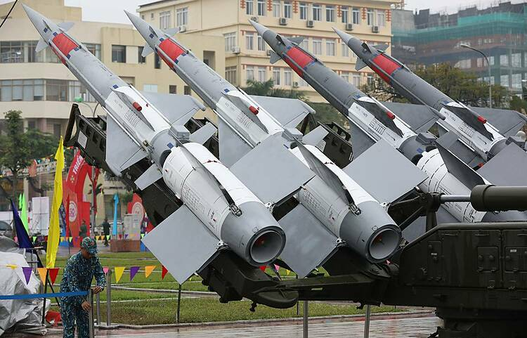 The missiles can operate independently or integrated into an Air Defense system due to its versatile radar and information control system.
