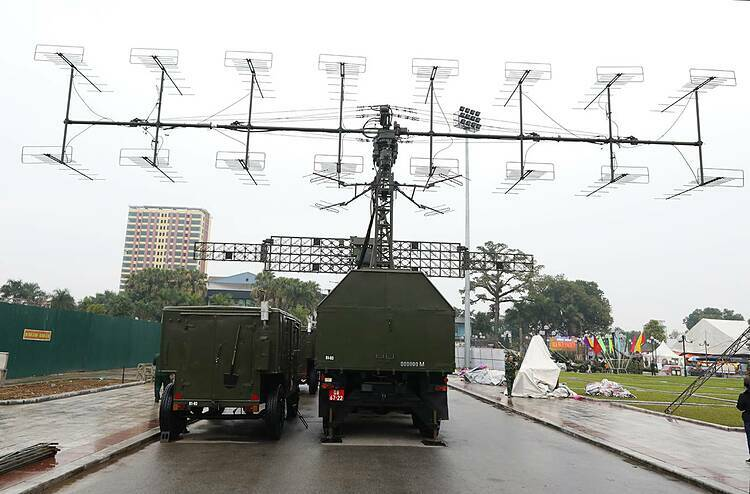 Radar P18M is developed by Vietnam based on transferred technologies from Czech Republic's P18 radar (commonly known as Spoon Rest D), working at VHF-frequency, 250-km range, 35-km altitude, and 360-degree azimuth.