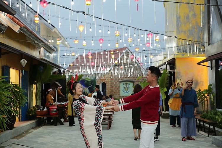 Lantern Street in Hoi An.