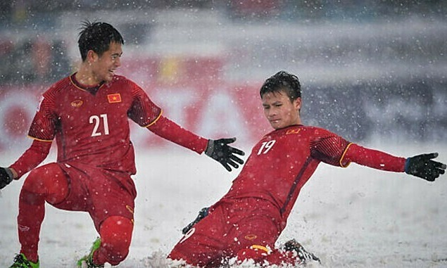 Quang Hai's free kick in blizzard voted most iconic goal in AFC U23 Championship history