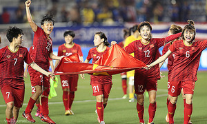 Olympics playoff in striking distance for Vietnam's female footballers