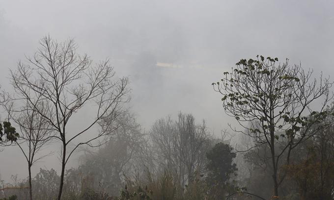 Landfill fires choke Da Lat with toxic fumes