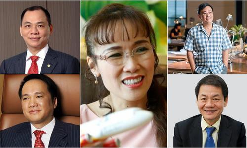 Five Vietnamese billionaires amass assets worth $14.4 billion
