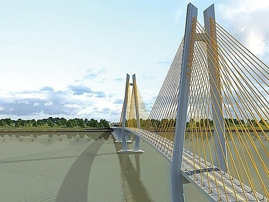 An artists impression of the My Thuan 2 Bridge connecting the southern provinces of Tien Giang and Vinh Long.