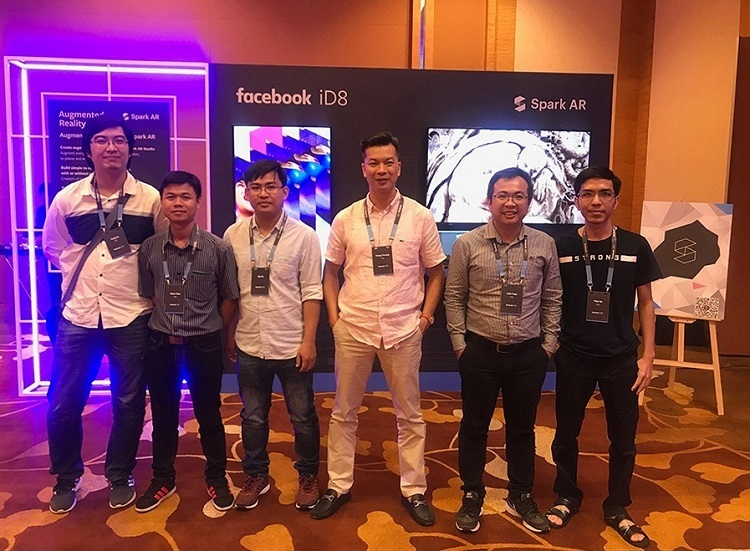 Jingo team at Facebook iD8 in Singapore, August 2019.