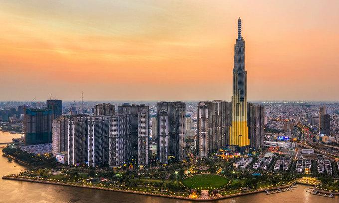 HCMC office rent hits decade high