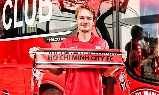 HCMC FC sign Swedish striker