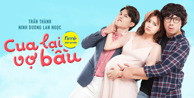 A promotional banner of Cua Lai Vo Bau. Photo courtesy of Galaxy Studio.