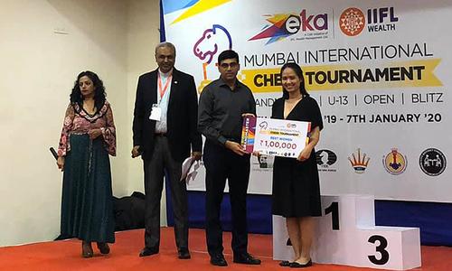 Vietnamese wins women's blitz title at Indian chess tournament