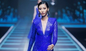 Color of dusk inspires top Vietnamese designer
