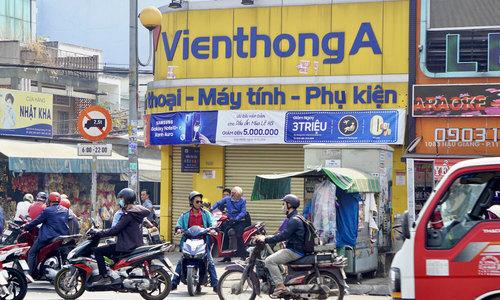Mobile phone retailer Vien Thong A shuts up shop