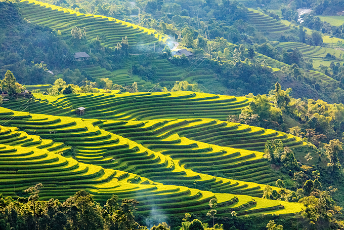 Mu Cang Chai is at its most beautiful in September and October every year. Photo by Shutterstock/Hoang Anh.