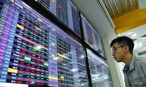 VN-Index inches up, but most stocks in the red