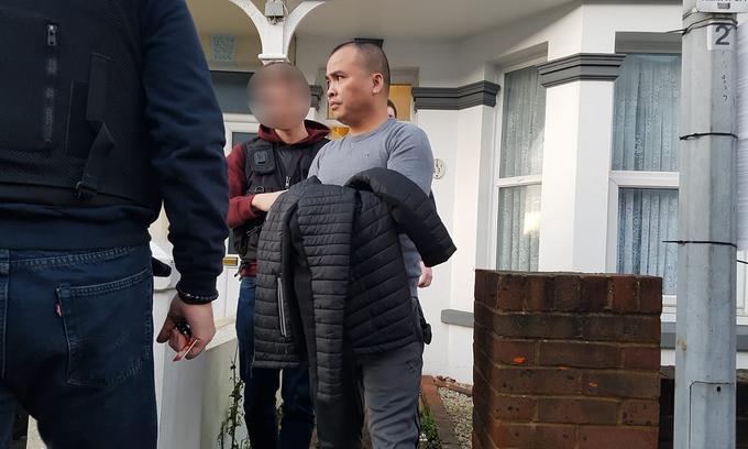 Smuggler of Vietnamese people nabbed in UK