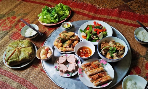 Traditional Tet dishes carry important meanings