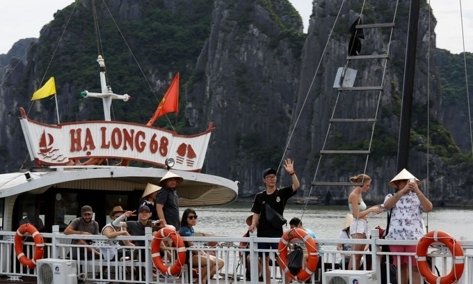 Chinese visitors to Vietnam hit record high in Jan