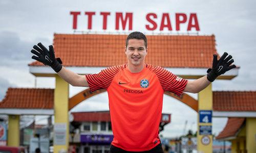 Vietnamese-Czech goalkeeper close to acquiring citizenship