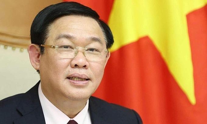 Deputy PM Vuong Dinh Hue appointed Hanoi Party Secretary