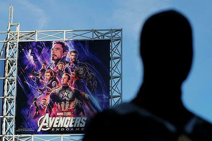 Avengers: Endgame poster. Photo by Reuters.