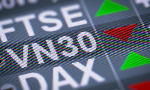 Blue chips in the red as stock market posts losing session