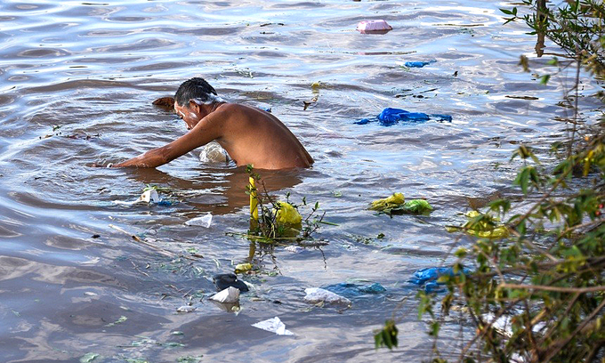 Mekong nations to address choking plastic pollution