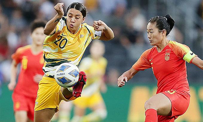 Australia net injury-time leveler to set up Vietnam clash